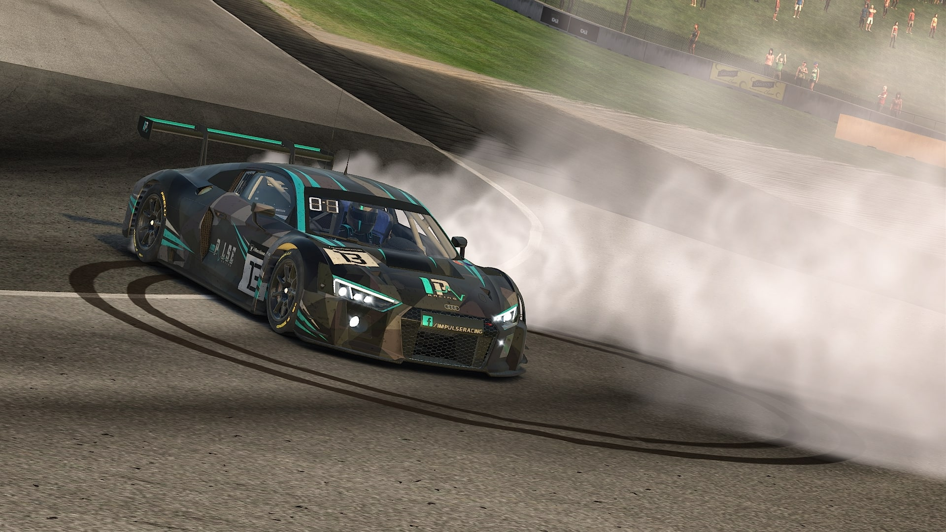 Audi with Donuts at Road America