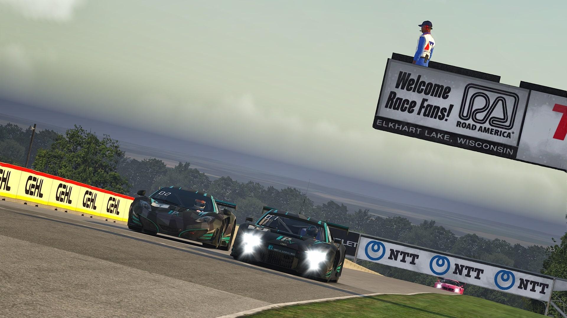 Audi and McLaren at Road America