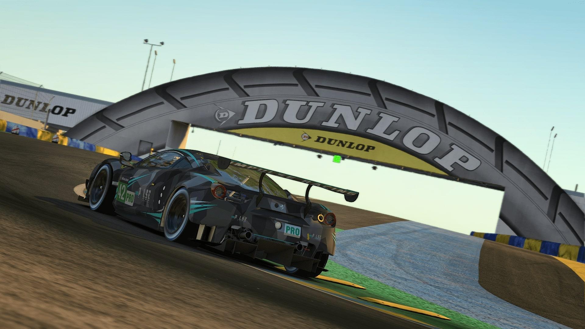 Ferari GTE Le Mans 2020 Sunrise Dunlop