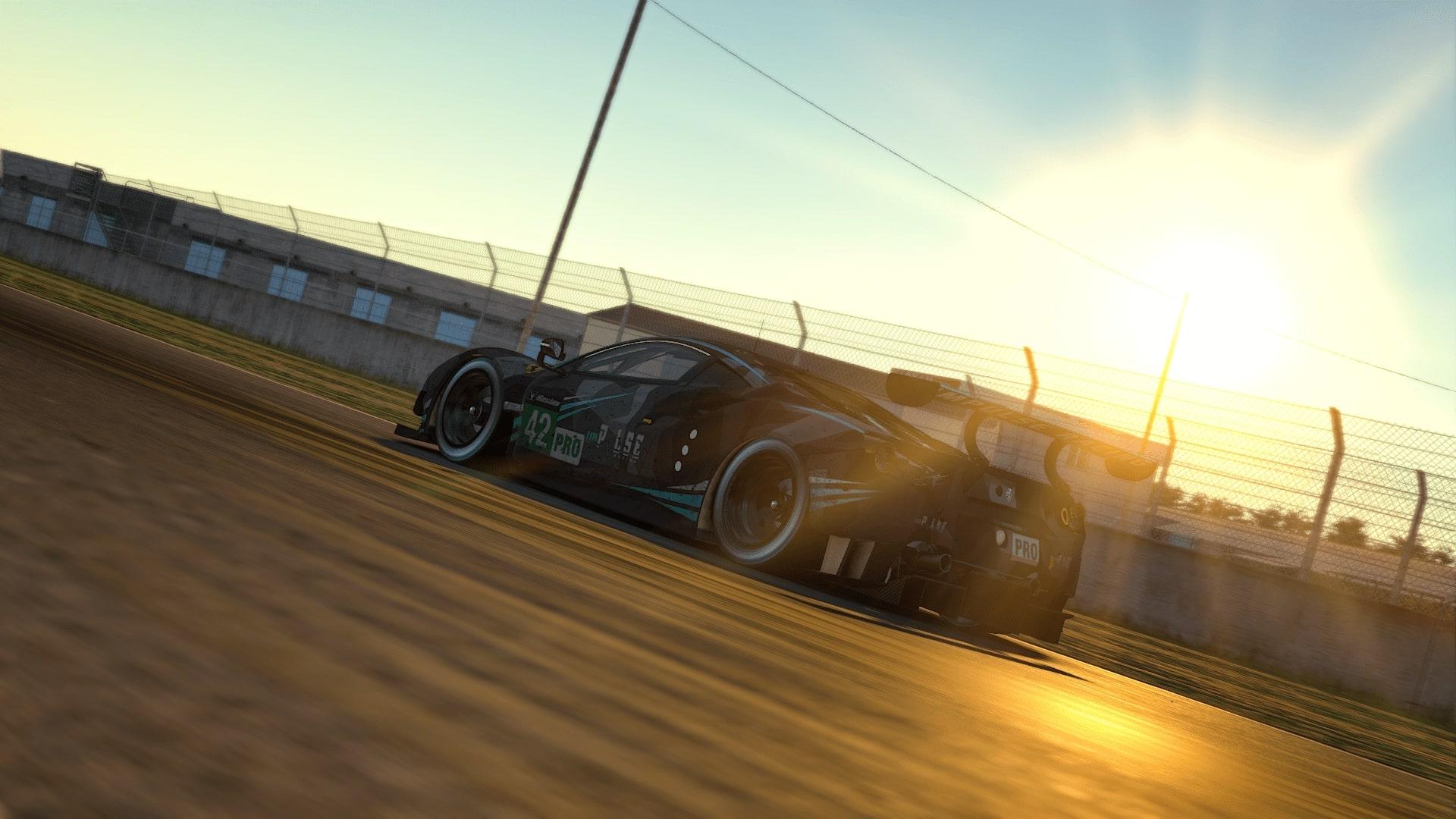 Ferari GTE Le Mans 2020 Sunrise
