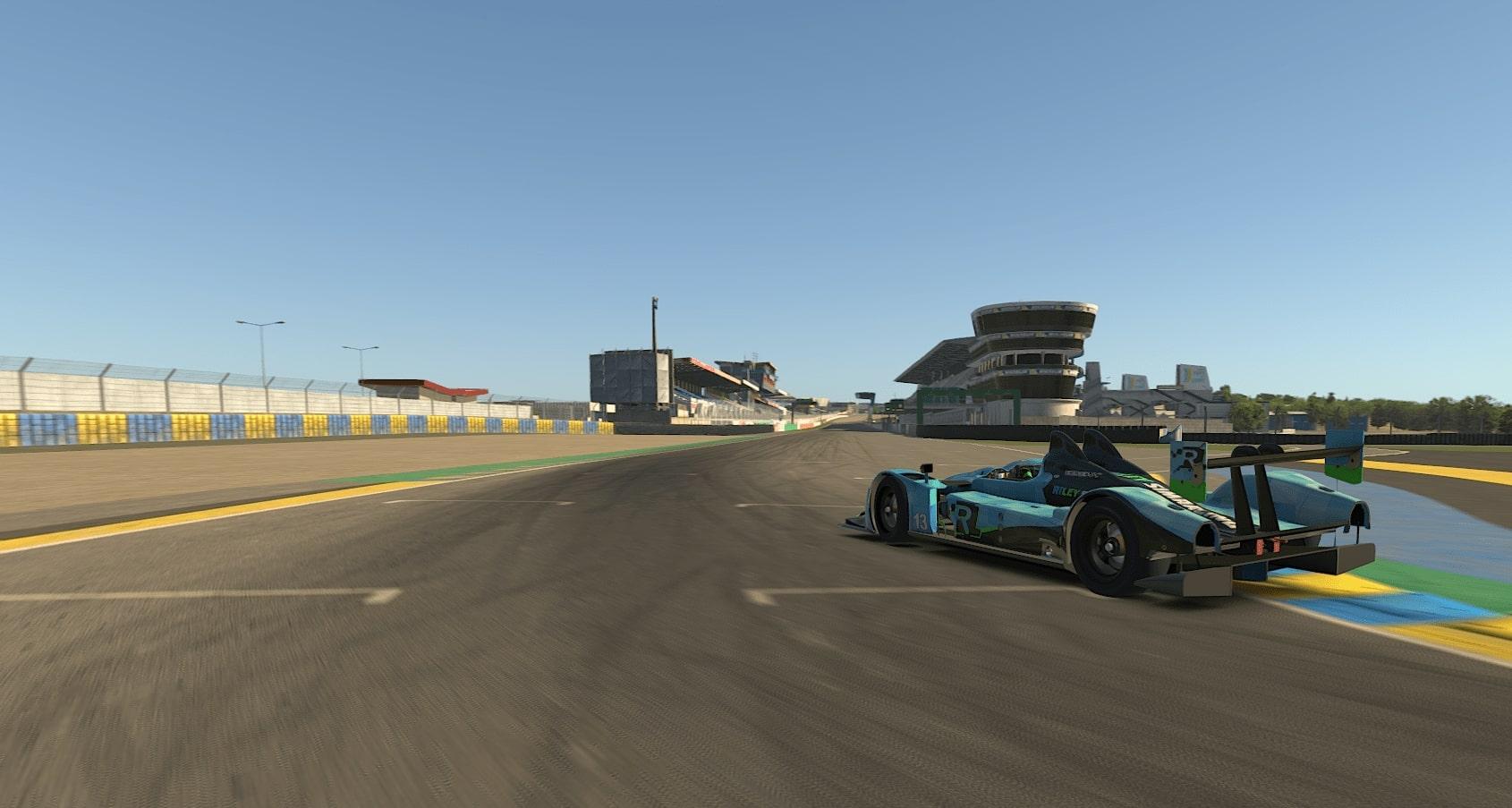 24h Le Mans 2020 HPD Start