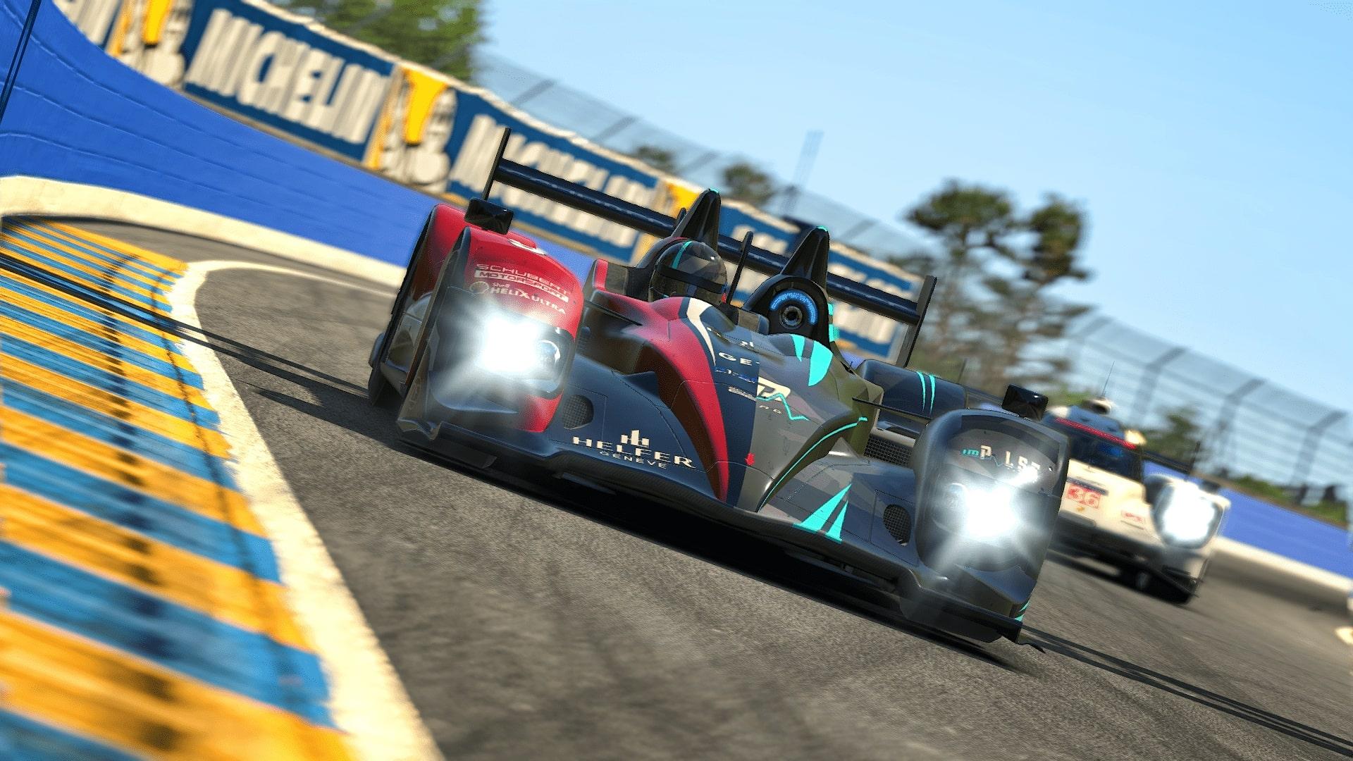 24h Le Mans 2020 HPD Porsche Curves