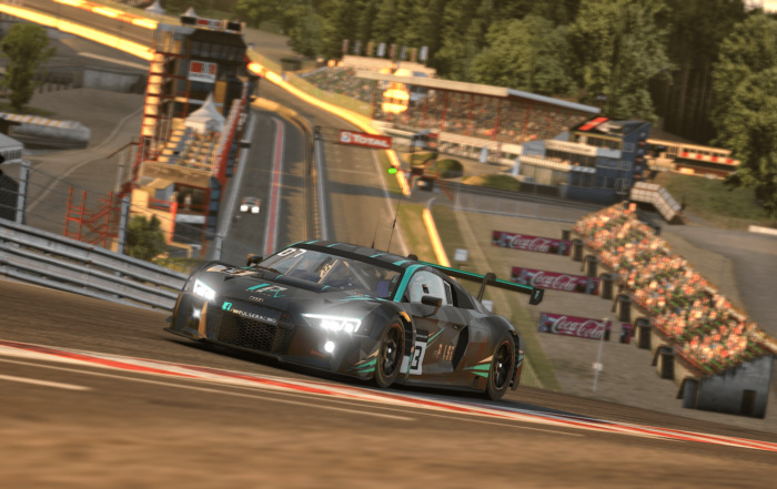 iRacing 24h of Spa Audi Radillion