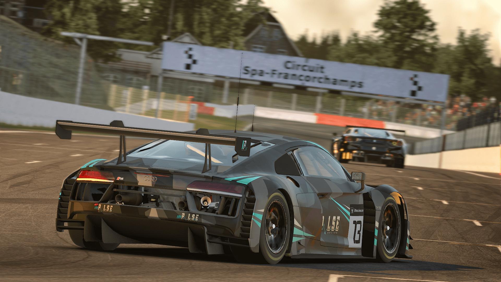 Audi GT3 Spa Start/Finish