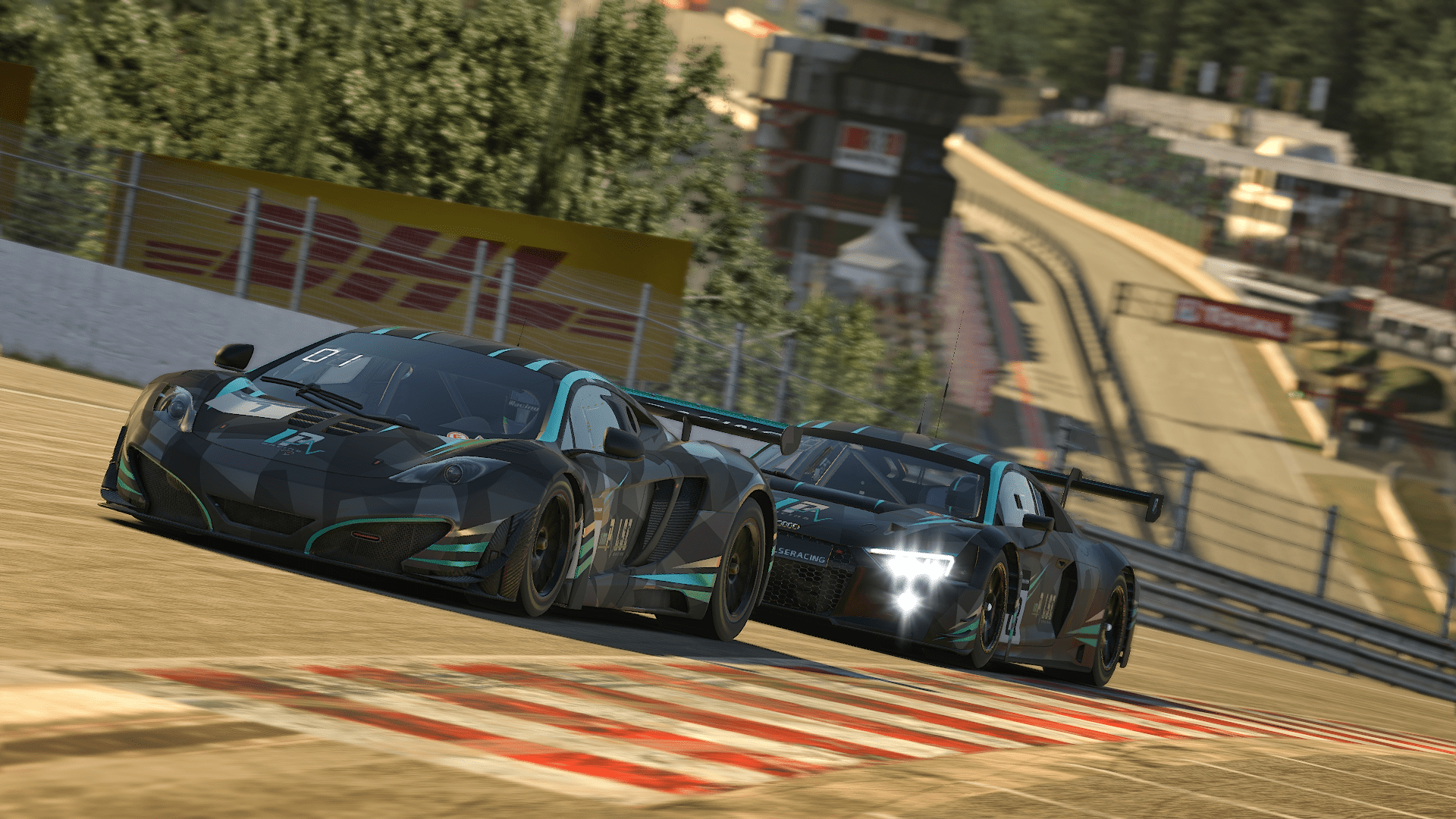 iRacing 24h of Spa with Audi in Radillion Top