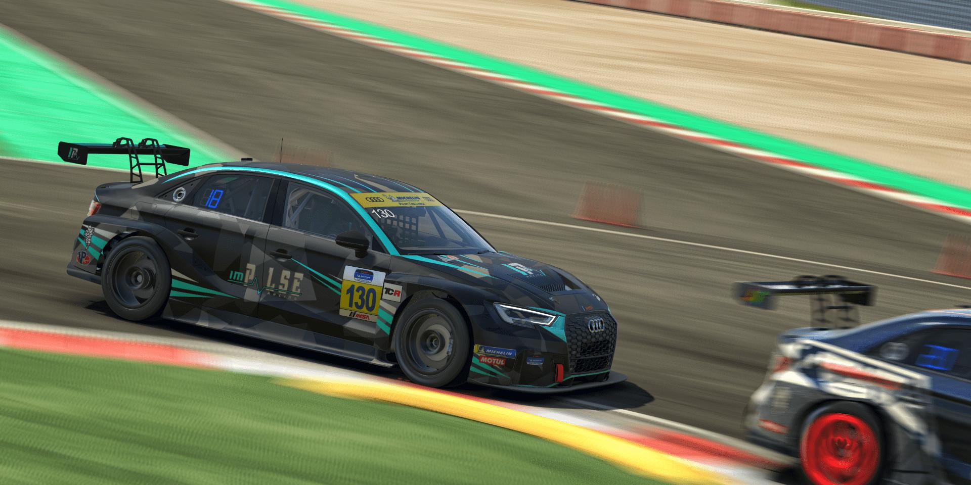 Heusinkveld TCR Series Barcelona last chicane
