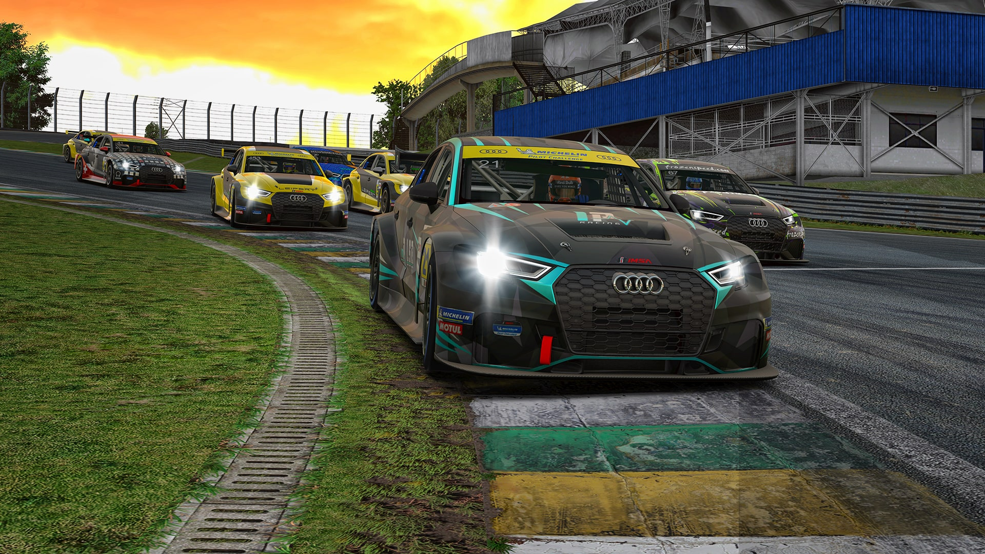 Audi RS3 LMS Interlagos