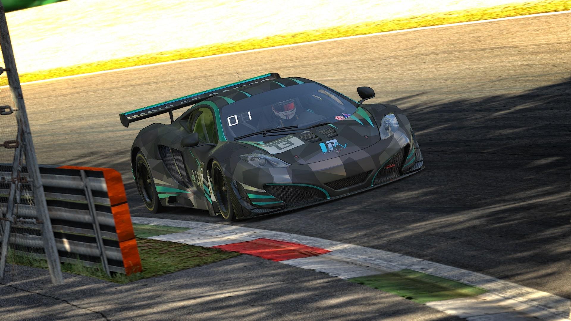 McLaren at Monza