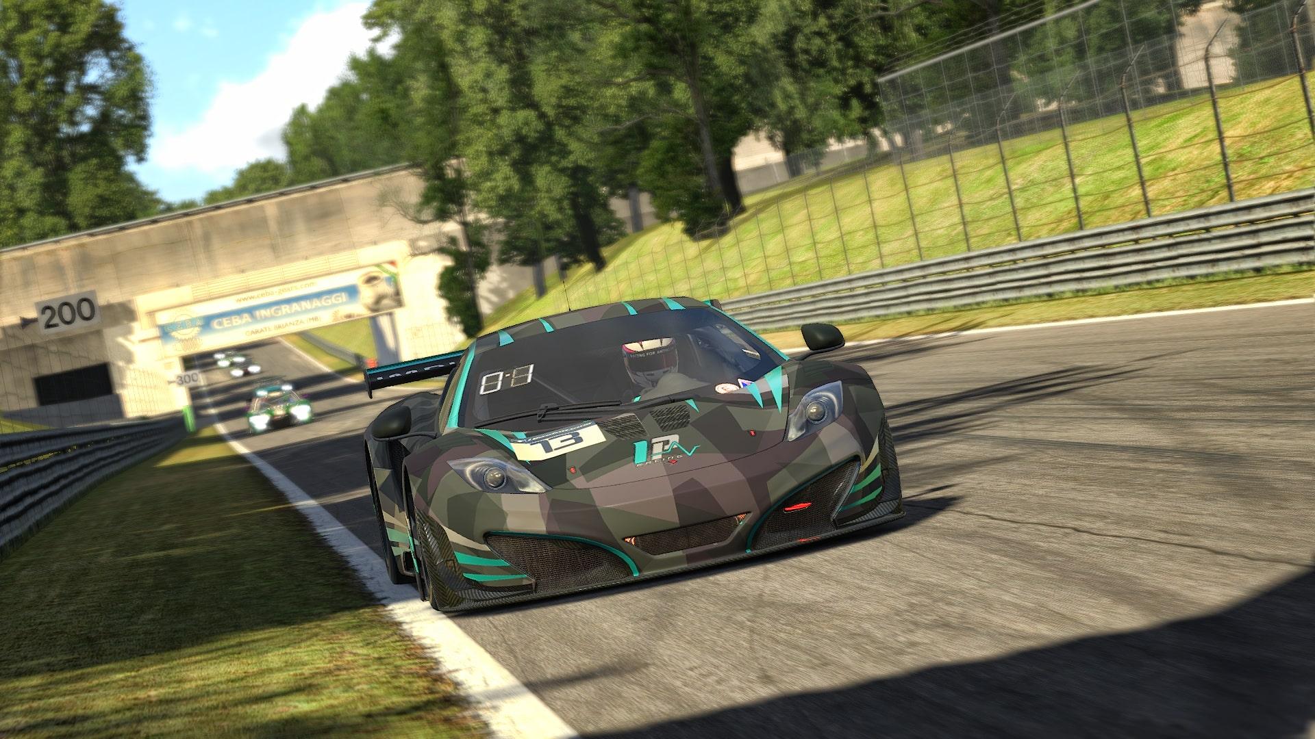 Mclaren RSR World Series Monza