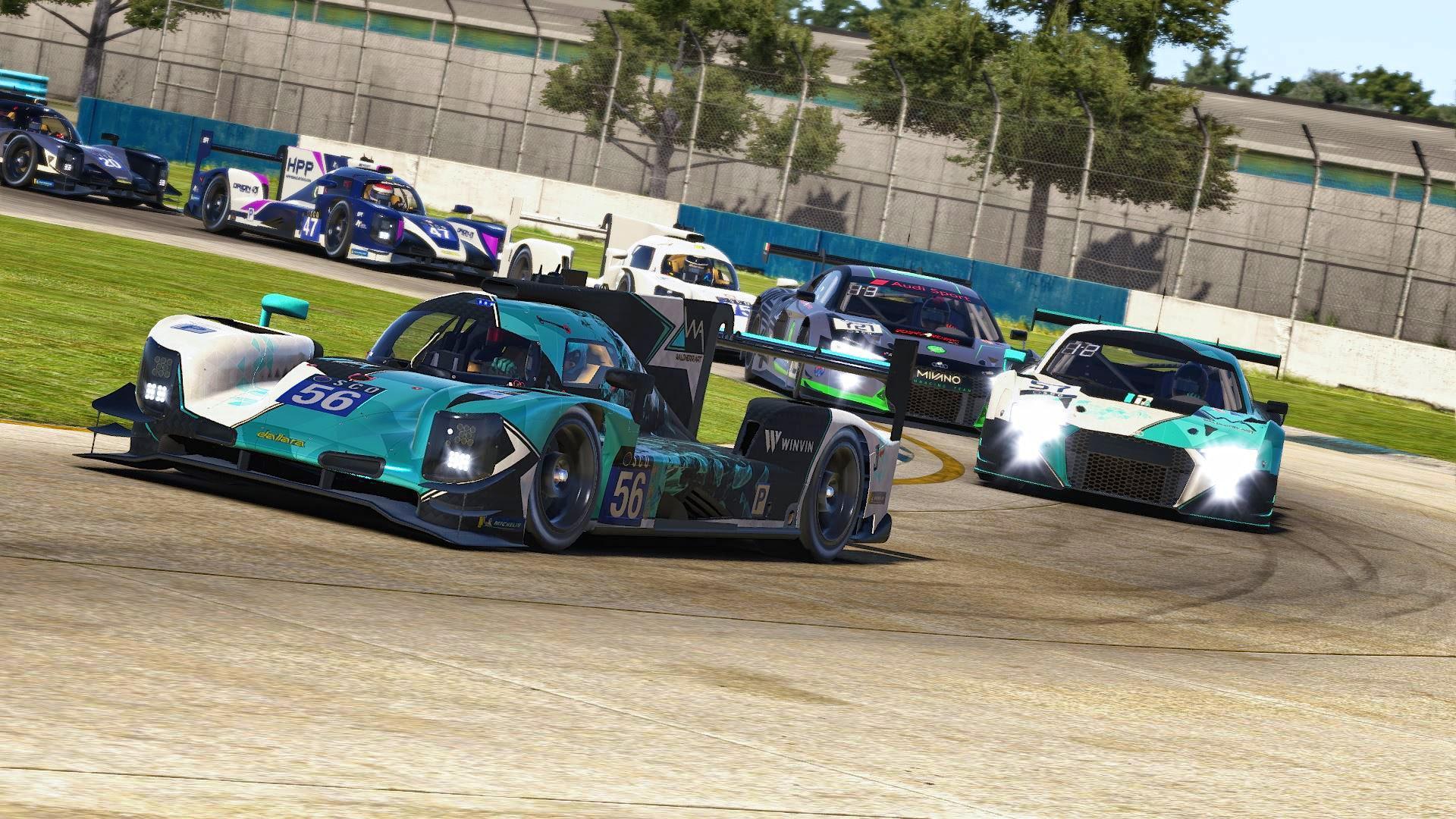Dallara LMP2 at Sebring SCO
