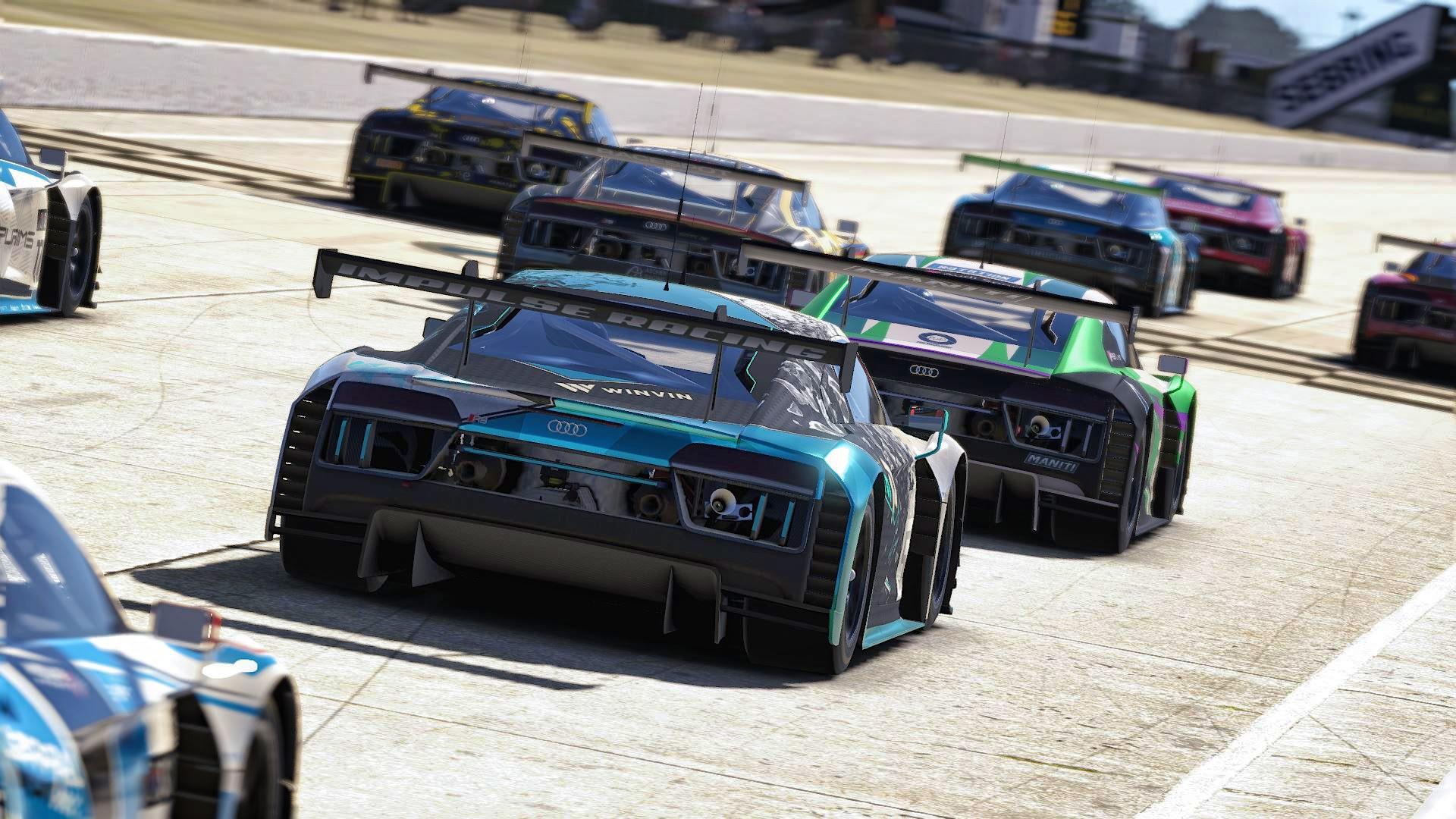 SCO Start Audi GT3