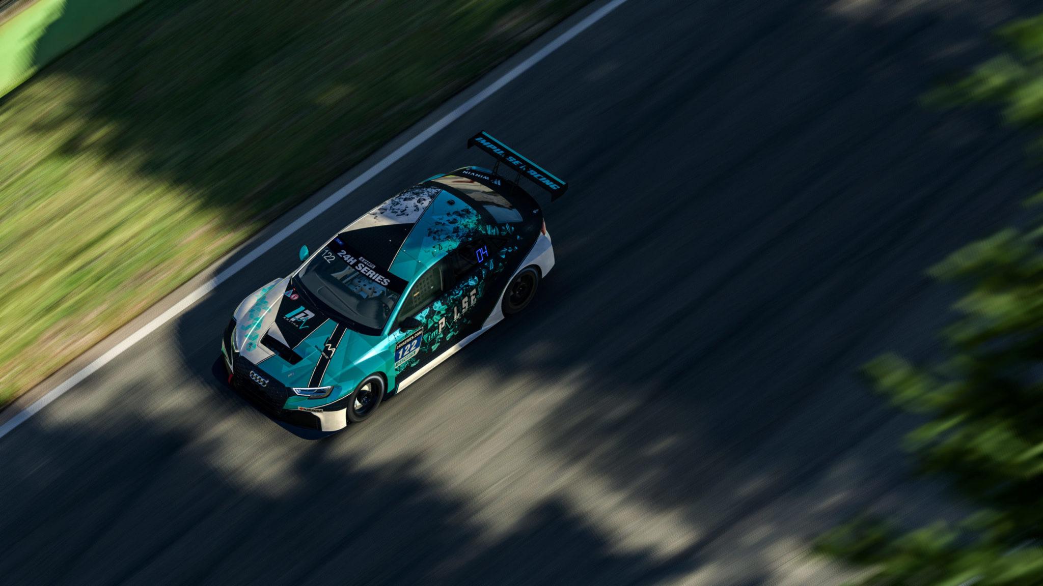 TCR top view imola 24h esport series
