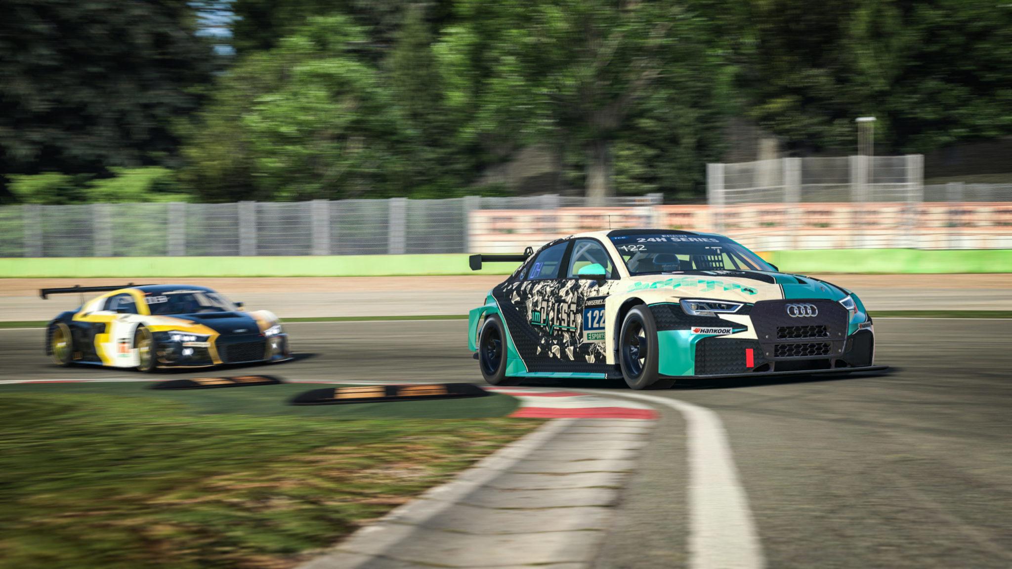 Imola 24 series esports tcr front view