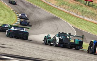 Traffic iRacing Petit Le Mans