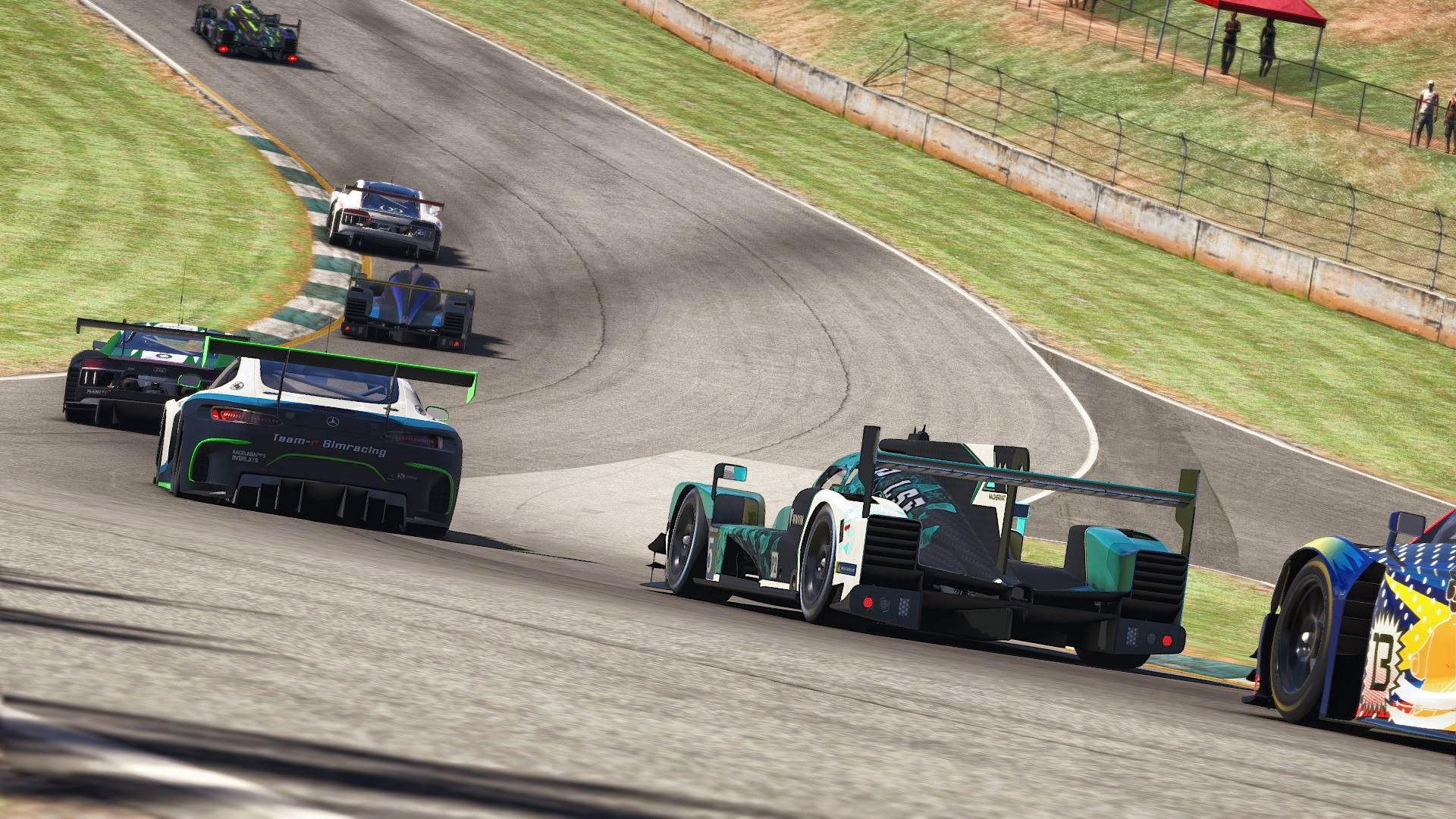 Traffic iRacing Petit Le Mans