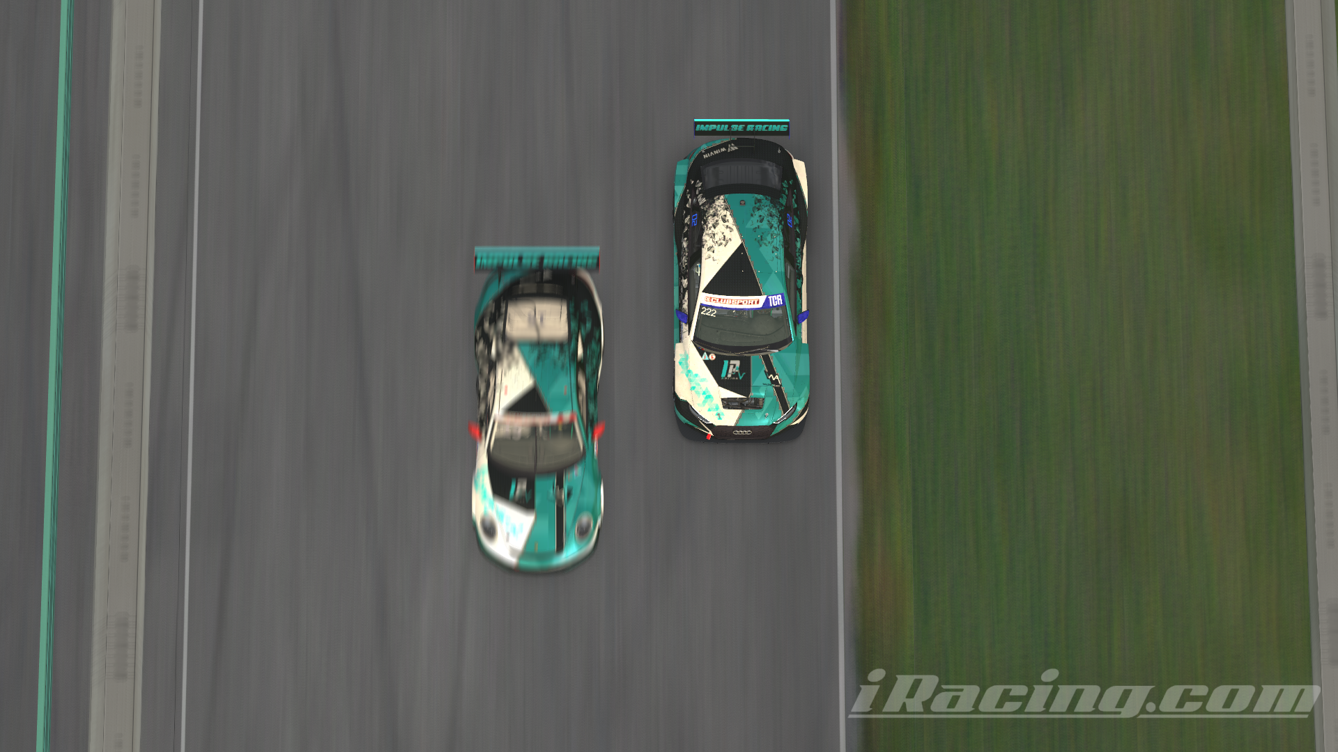 Top view Impulse TCR and CUP