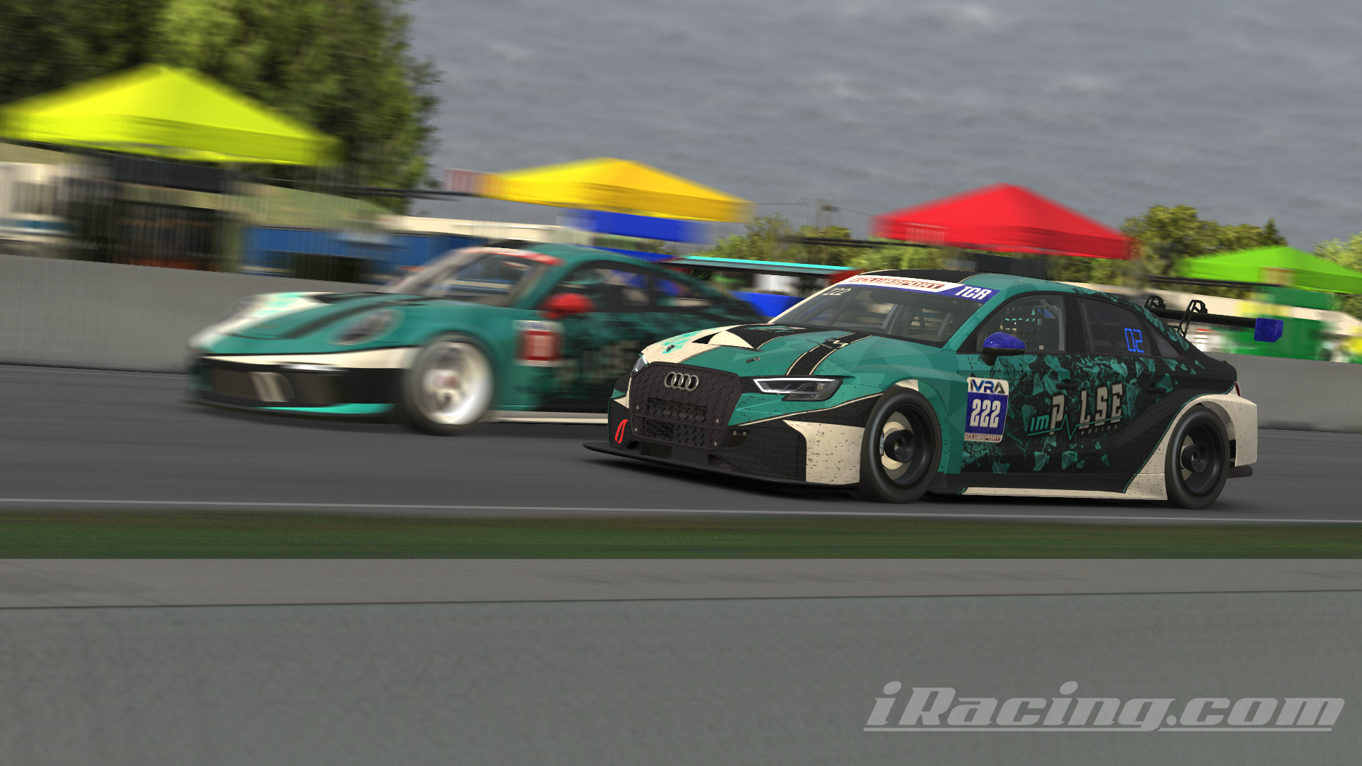 CUP pass on TCR Impulse