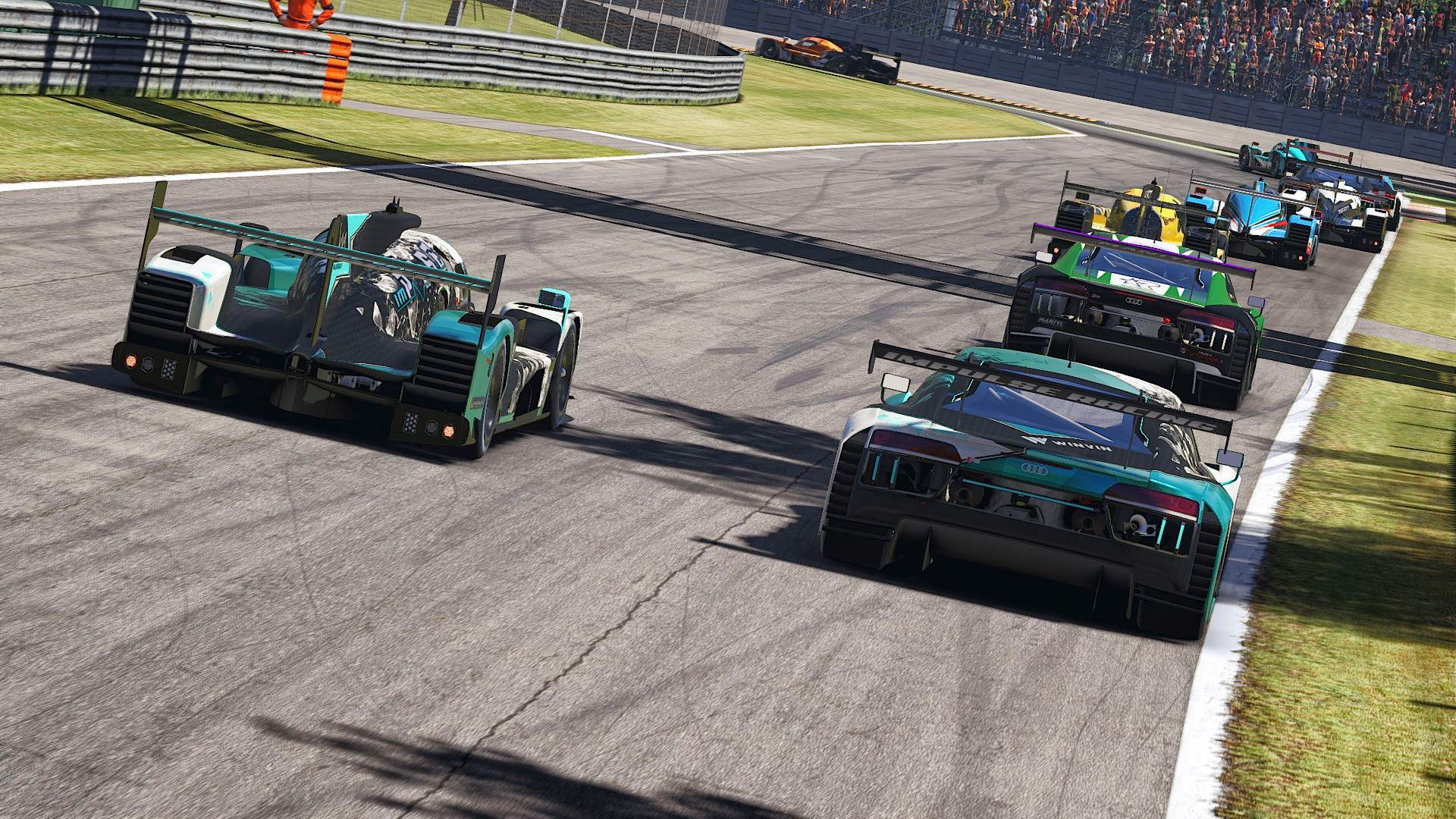 iPR LMP2 GT3 SCO Monza