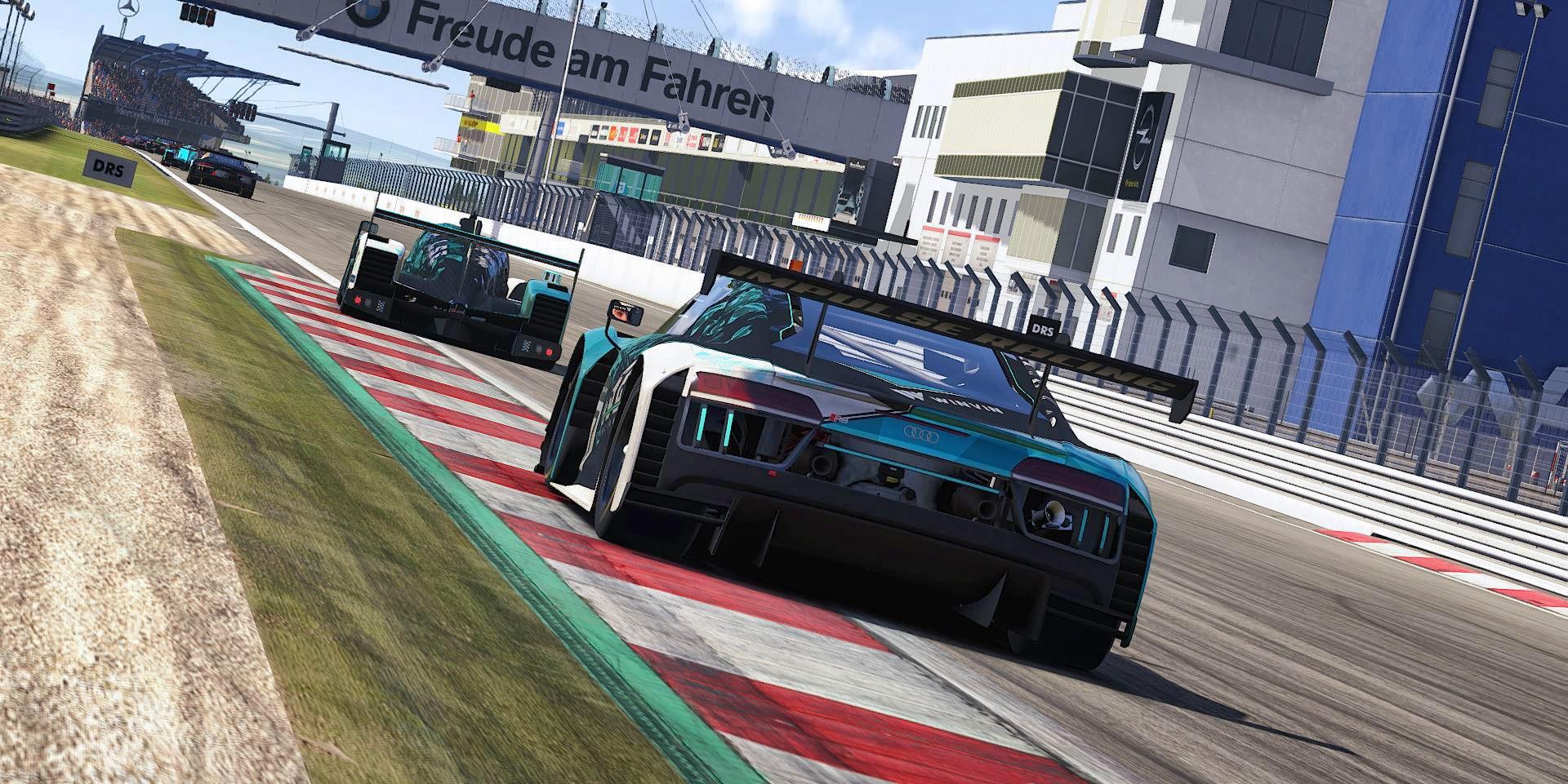 Nürburgring IMSA Traffic