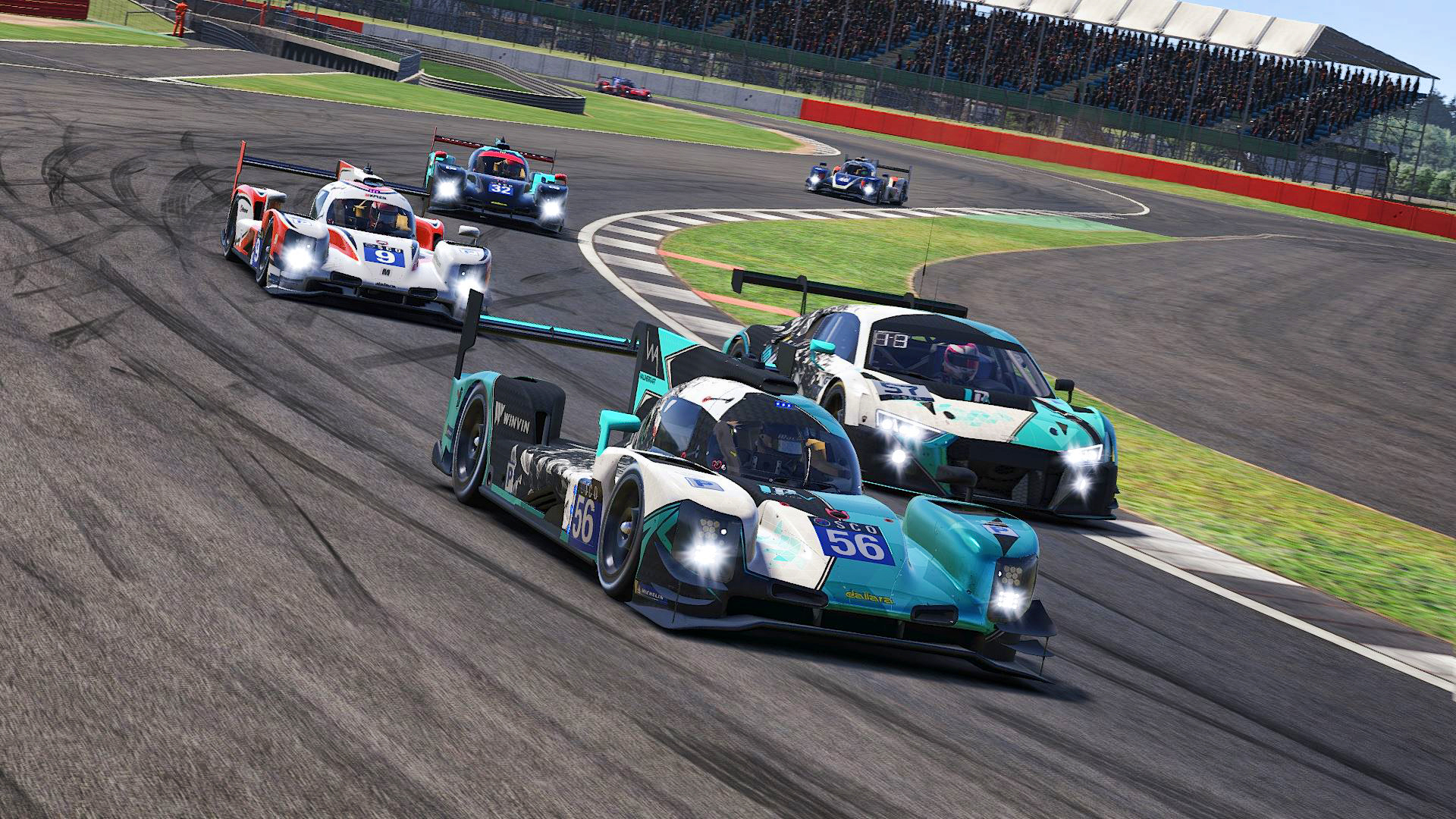 Multiclass traffic SCO Silverstone