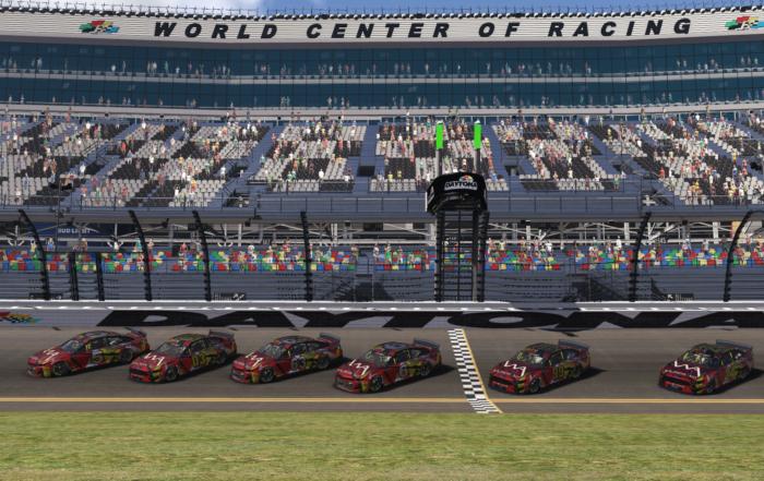 Daytona 500 special livery
