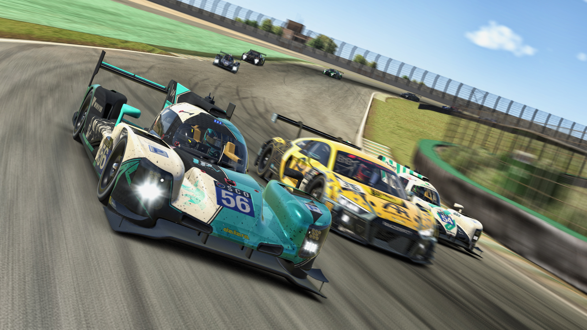 LMP2 3 wide Interlagos SCO