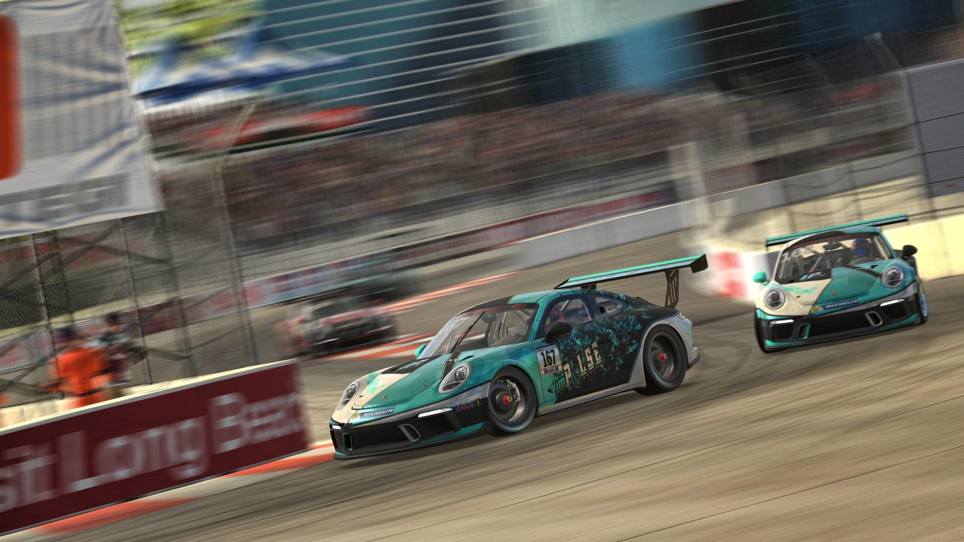 Pascal in Long Beach Porsche Cup