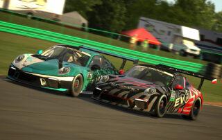 Costa vs. Kamil last Round Porsche Cup ARA