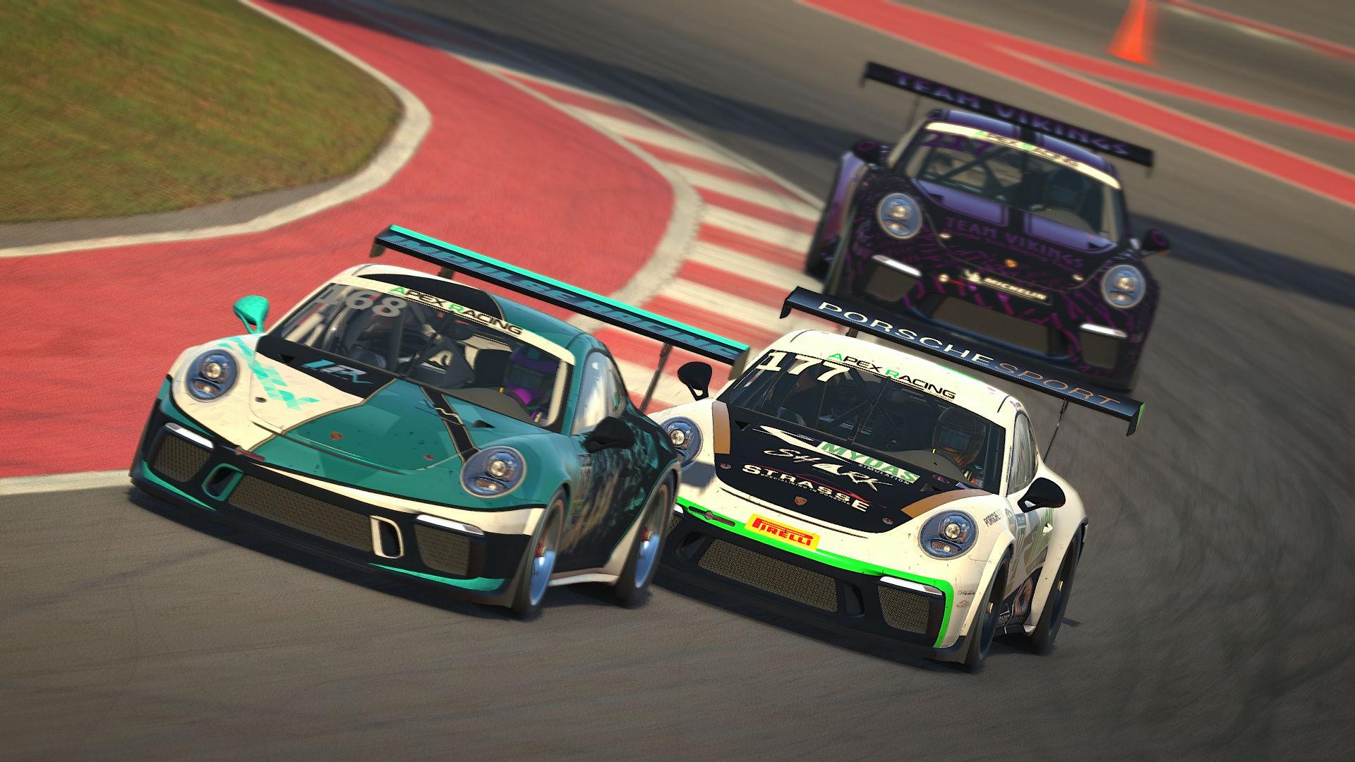 Max Kessler vs Camm ARA Porsche Cup