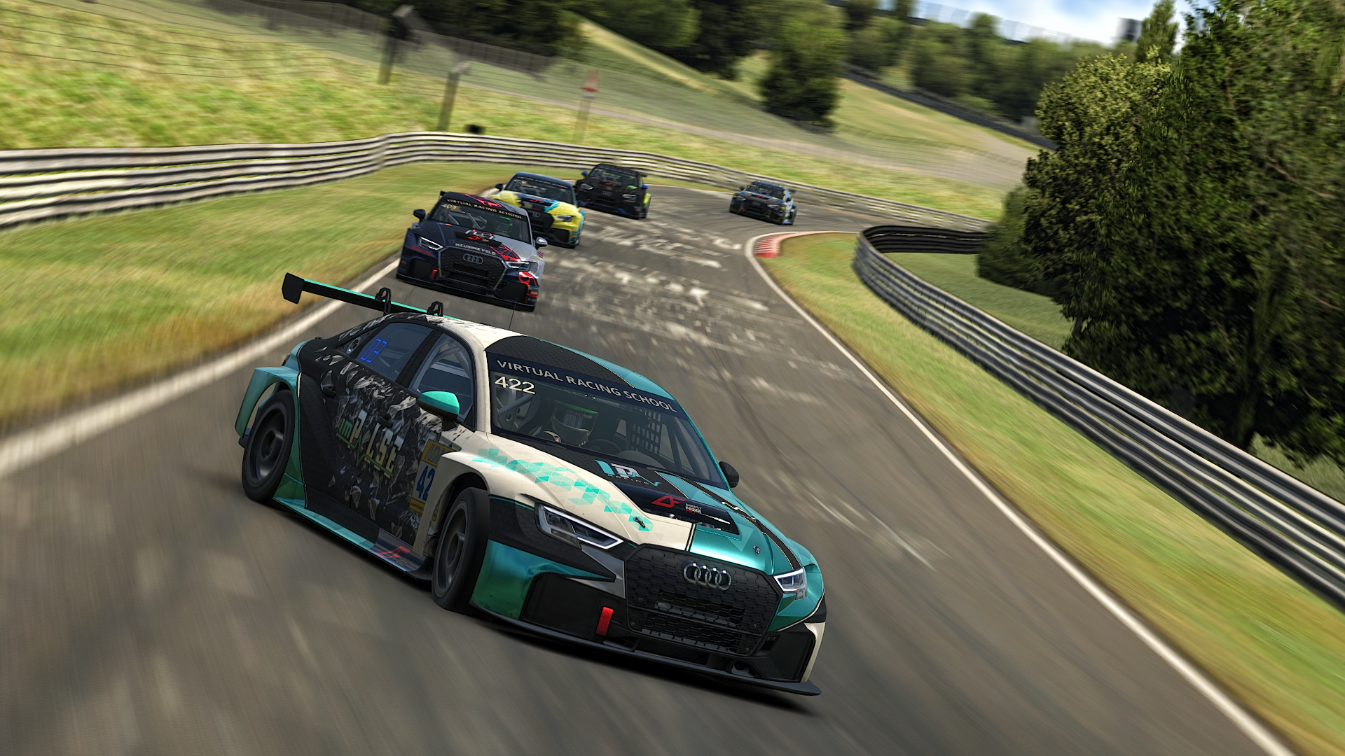 Slight drift Audi TCR