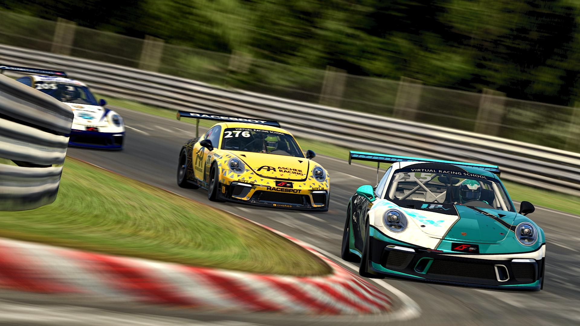 Porsche Cup vs SimRC Nordschleife