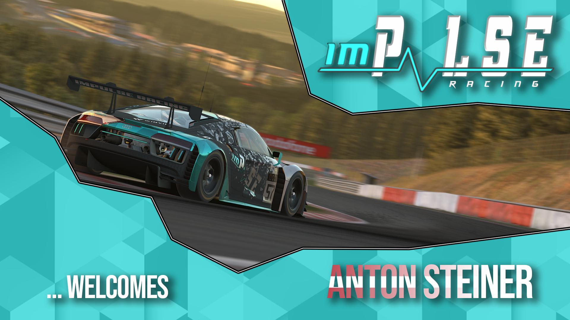 Welcome Anton Steiner
