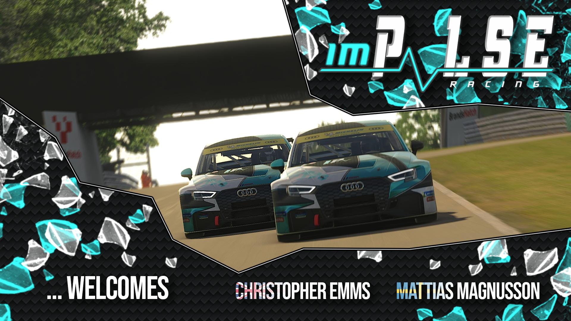 Welcome Christopher and Mattias